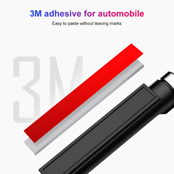 New Universal Car Temporary Parking Card Rotate Phone Number Plate Aluminum Stickers Park Stop in Car-styling Auto Accessories Car accessories