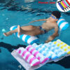 New Water Hammock Recliner Inflatable Floating Swimming Mattress Sea Swimming Ring Pool Party Toy Lounge Bed For Swimming Swimming