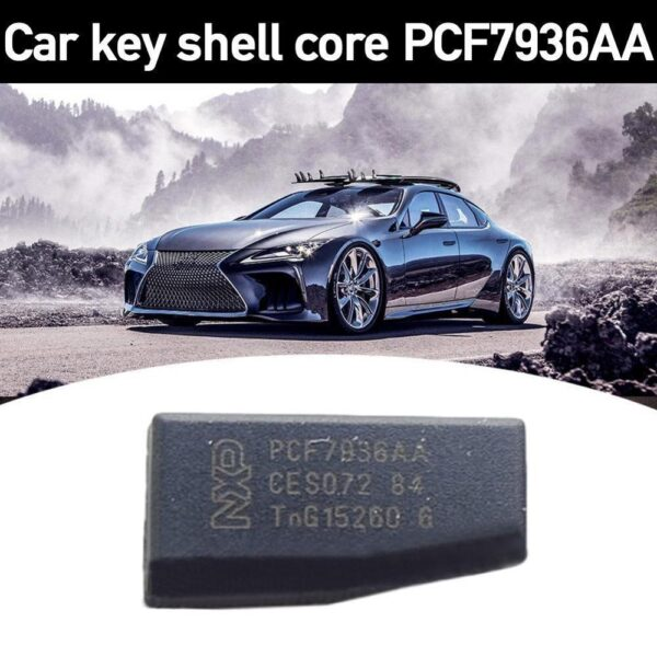 Original PCF7936AS Auto key transponder chip ID46 chip PCF7936 PCF7936AA Locksmith Tool pcf 7936 Car accessories