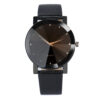 Otoky Watches Men Luxury Quartz Sport Military Stainless Steel Dial Leather Band Wrist Watch 12-hour Dial Glass Belt Wrist Watch Fashion Life & Accessories Iwatch & Accessories