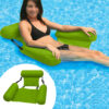 PVC Summer Inflatable Foldable Floating Row Swimming Pool Water Hammock Air Mattresses Bed Beach Water Sport Lounger Chair Mat Swimming