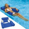PVC Summer Inflatable Folding Floating Row Swimming Pool Water Hammock Air Mattresses Bed Beach Water Sports Lounger Chair Mat Swimming