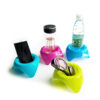 Plastic Beach Sand Coaster Multifunctional Bright Color Easy To Find Convenient Pack Drink Cup Holder For Beverage Phone Holder Swimming