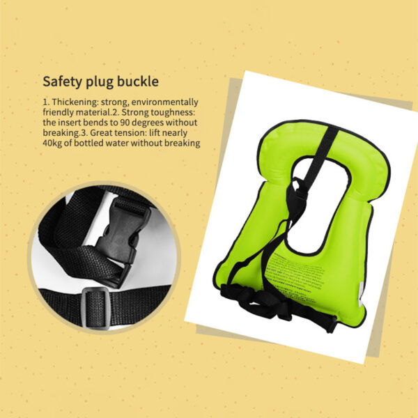 Polyester Life Jacket Swimming Life Vest L-XXL Fishing Vest Outdoor Sport Safety Life Jacket Drifting Boating Drifting Fishing Swimming