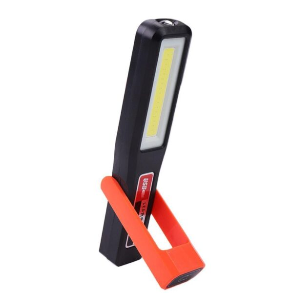 Portable COB LED Magnetic Work Light Car Garage Mechanic Home Rechargeable Torch Lamp Outdoor Camping With Lamp Flashlight Car accessories