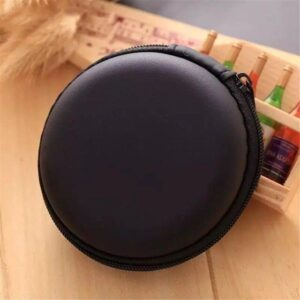 Portable Mini Round Hard Storage earphone case for Earphone SD TF Cards for Iphone xiaomi Samsung Usb Cable Earphone Bags Bluetooth headphones