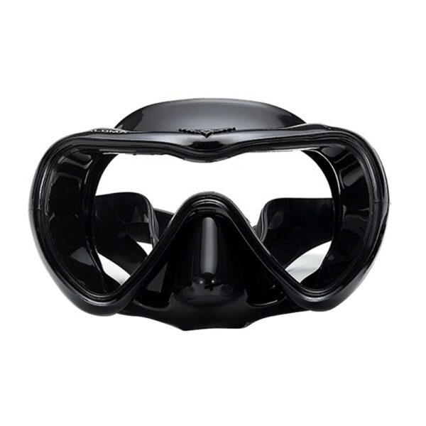 Professional Scuba Diving Mask Set Anti Fog Goggles with Snorkel Glasses Tube Adjustable Strap for Women Men Adult Swimming Mask Swimming