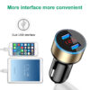 QC 3.0 Car Charger USB 5V 3.1A With LED Display Universal Dual Usb Car Cigarette Lighter for Xiaomi Samsung S8 iPhone X 8 Plus Car accessories