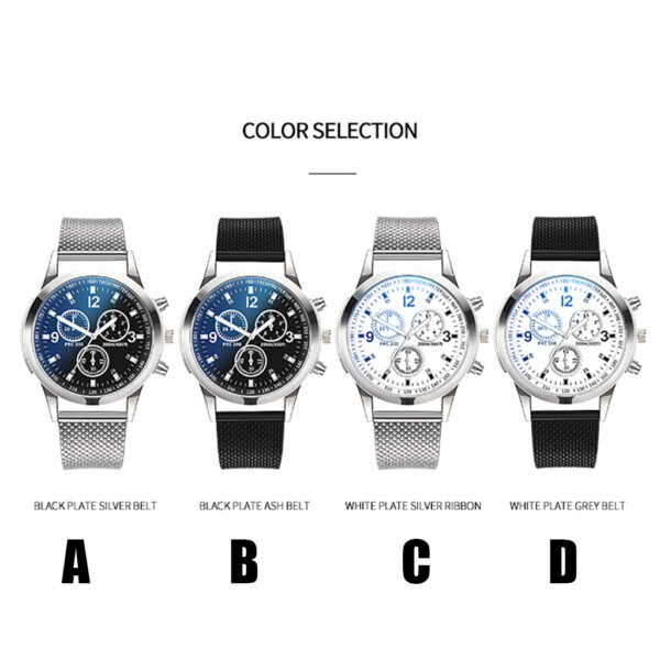 Quartz Watch Fashion Men Wristwatches Luxury Watches Stainless Steel Dial Casual Bracele Watches Hombres Hour Reloj Clock 2020 Fashion Life & Accessories