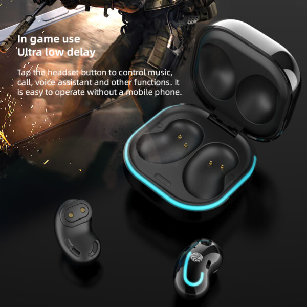 ROCKSTICK S6 SE Wireless headphone TWS Headset Bluetooth 5.0 earphone HIFI sound Mini earbuds with charge box for all smartphone Earbuds
