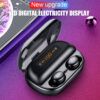 ROCKSTICK V11 TWS touch bluetooth 5.0 headset with LED wireless earphone binaural in-ear earbuds for all smartphone Earbuds