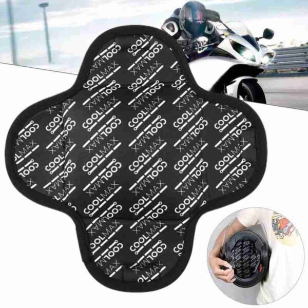 Removable and washable motorcycle helmet inner liner and breathable quick-drying sweat-absorbing cushion sponge W4E9 Car accessories