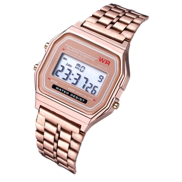 Rose Gold Silver Watches Men Women Electronic Digital Display Retro Style Clock Men's Relogio Masculin Reloj Hombre homme Fashion Life & Accessories Iwatch & Accessories