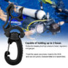 Scuba Diving Regulator Double BCD Hose Holder With Clip Buckle Hook Snorkeling Double BCD Clip Regulator Retainer Buckle Hook Swimming