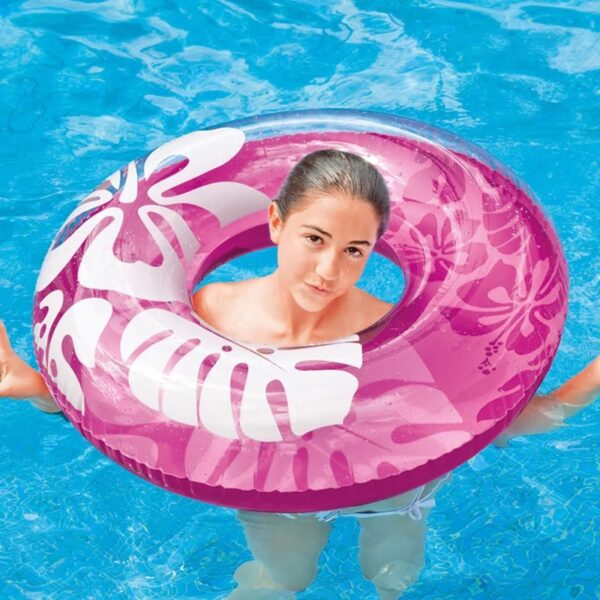 Shell Swimming Ring Inflatable Floats pool Hibiscus Swimming Float For Adult Floats inflatable donut Swim Ring Water Sports Toy Swimming