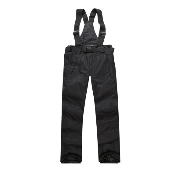Ski Pants Men and Women Winter High Quality Thicken Waterproof Windproof Warm Snow Trousers Skiing and Snowboarding Pants Brands Men Ski Suits Jackets ski