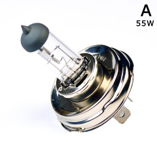 (Sold one one) Car headlight H4 P45T 12V 55W 100W ultra-white agricultural halogen vehicle lamp quartz bulb light Z4R2 Car accessories