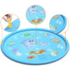 Sprinkler Mat Inflatable Spray Water Cushion Toys Children'S Baby Play Water Mat Games Beach Pad Lawn Sprinkler Pool Spray Pad Swimming
