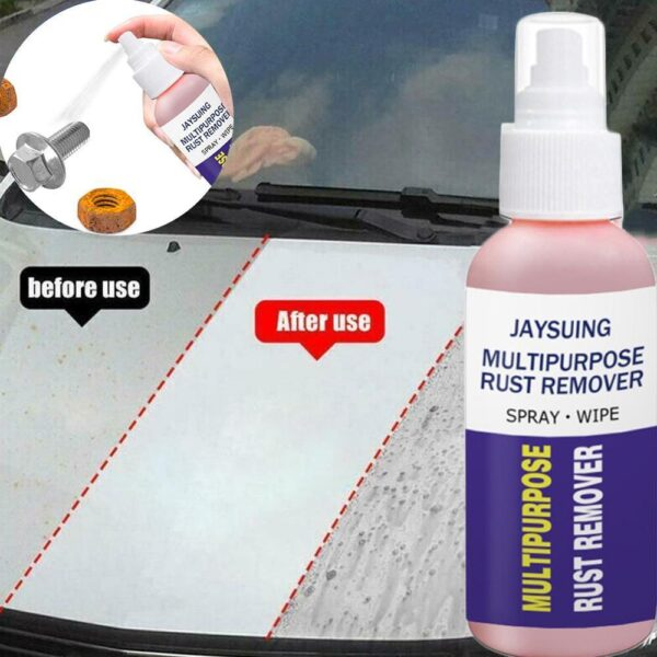 Strong Rust Removal Instantly Dissolves Polishing Cleaner Prevent Future Oxidation Steel Cutlery Protective Coating Car accessories