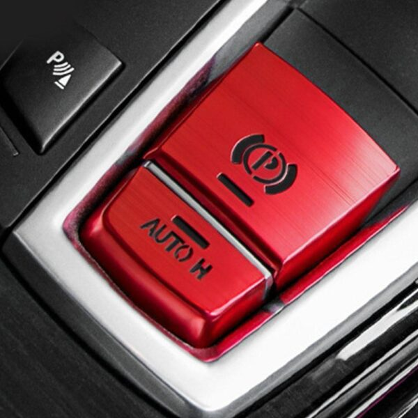 Suitable for BMW Electronic Handbrake Decorative Cover 5 Series 7 Series X3 X4 X6 X5 Interior Modified Button Sequin Car Sticker Car accessories