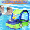 Summer Baby Kids Cartoon Float Seat Car Boat Swimming Inflatable Children Rubber PVC Circles Safety Swimtrainer Pool Accessories Swimming