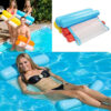 Summer Inflatable Floating Row Chair Pool Air Mattresses Beach Foldable Swimming Pool Fruit Chair Hammock Water Sports Mattress Swimming