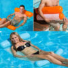 Summer New Inflatable Bed Sofa Floating Row Pool Air Mattresses Beach Foldable Swimming Pool Chair Hammock Piscina 130x70cm Swimming
