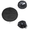 Surfing Waterproof Change Bag Pouch Water Sports Polyester Mat Diving Suit Storage Swimming Accessories Carry Pack Wetsuit Black Swimming