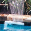 Swimming Fish Pool Waterfall Fountain Adjustable Water Pools Connector Head Decoration Pool Pond Floating Water Fountain Device Swimming