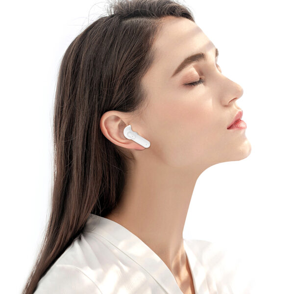 TWS Bluetooth Headphones Wireless 5.1 Earphones Waterproof HD Stereo Touch Control Earbuds Support Qi Wireless Charging With Mic Earbuds