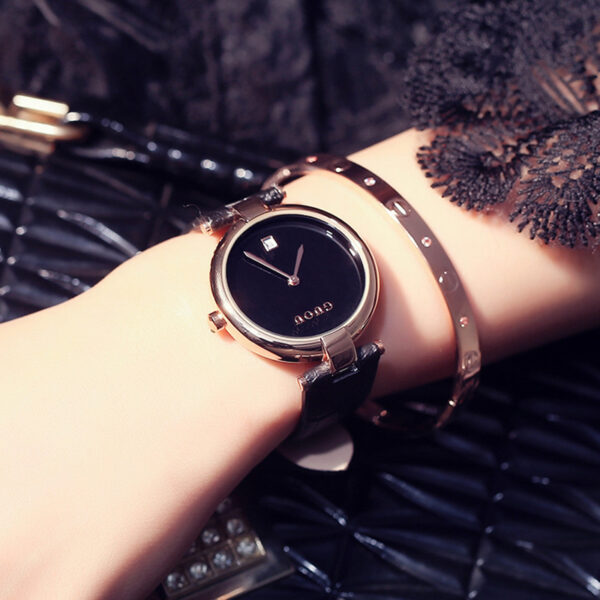 Top Brand Luxury Women Watches With Date Simple Fashion Design Ladies Watch Minimalist Stylish Woman Watch Casual Female Clock Fashion Life & Accessories Iwatch & Accessories