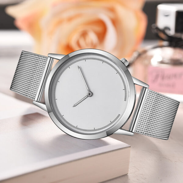 Top Fashion Men Casual Stainless Steel Band Strap Business Watch Simple Analog Quartz Wristwatches clock saat Gift Dropshipping Fashion Life & Accessories Iwatch & Accessories
