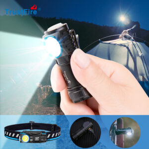 TrustFire MC12 EDC Powerful LED Flashlight 1000Lumens Magnetic Rechargeable Head Lamp CREE XP-L HI Camping Torch Flash Light Fashion Life & Accessories