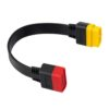 Universal 16 Pin Male To 16 Pin Female OBD 2 OBD II Extension Connector for Auto Diagnostic Extending Cable Car accessories