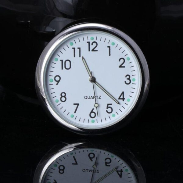 Universal Car Clock Stick-On Electronic Watch Dashboard Noctilucent Decoration For SUV Cars Car accessories