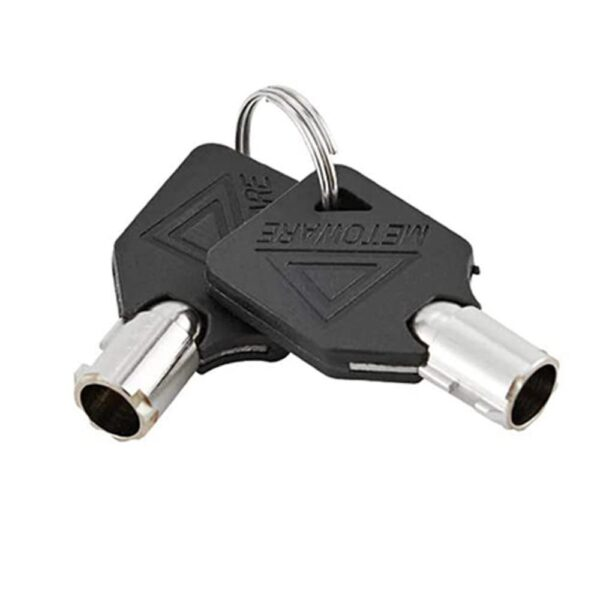 Upgrade 5/8 in Hitch Pin Lock w/Keys for RV Truck Trailer Tow Receiver Universal Car accessories