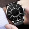 Watches Mens 2021 Luxury Fashion Men Stainless Steel Mesh Band Quartz Watch Man Business Casual Calendar Date Clock Reloj Hombre Fashion Life & Accessories Iwatch & Accessories