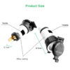 Waterproof Car Auto Motorcycle Cigarette Lighter Socket 12V 120W Auto Power Plug For Motorcycles Boats Mowers Tractors Cars Car accessories