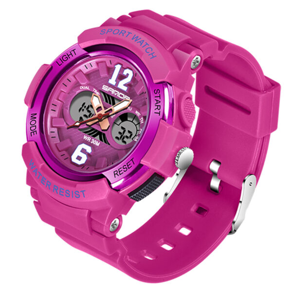 Waterproof Women Sport Digital Watches Ladies LED Military Fitness Watch Dual Display Female Swim Electronic Clock Reloj Mujer Fashion Life & Accessories Iwatch & Accessories