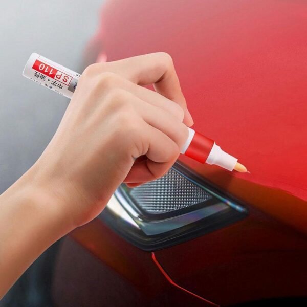 White Waterproof Rubber Permanent Paint Marker Pen Car Tyre Tread Environmental Tire Painting Car accessories