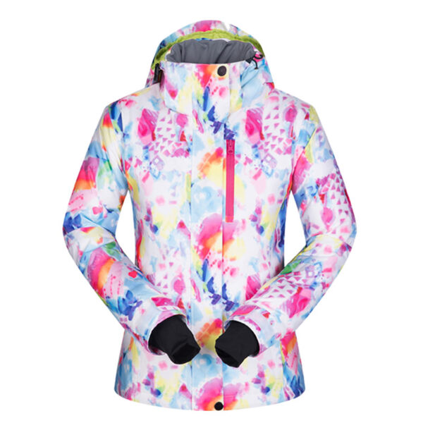Winter Ski Jackets Women High Quality Windproof Waterproof Warmth Female Coat Snow Camping Skiing and Snowboard Jacket Brand Ski Shop