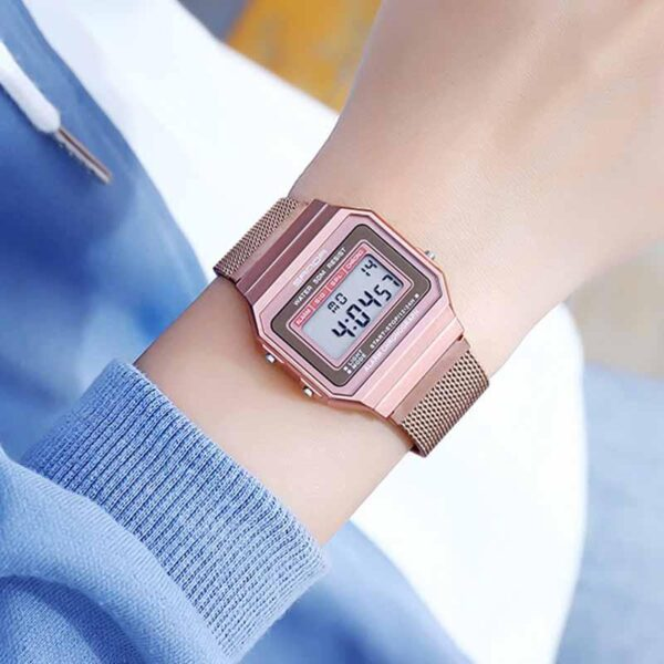 Women Digital Watches Lady For Watches Rose Gold Fashion Digital Women Watch Waterproof Calendar Display 2020 Hot Selling Clocks Fashion Life & Accessories Iwatch & Accessories