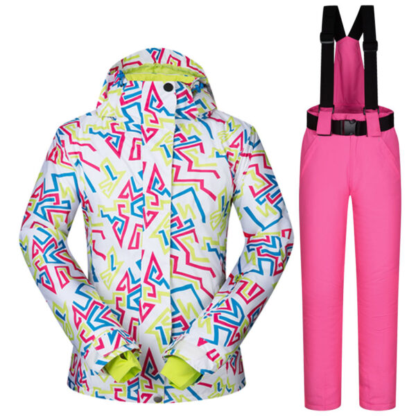 Women Ski Suit Winter Ski Jacket And Pants Female Waterproof Windproof Breathable Snow Sets Skiing And Snowboarding Suits Brands Ski Shop