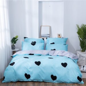 X-1001 Printed Solid bedding sets Home Bedding Set 4-7pcs High Quality Lovely Pattern with Star tree flower Bedrooms