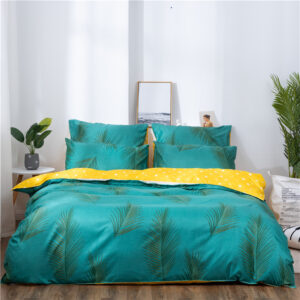 X-1006 Printed Solid bedding sets Home Bedding Set 4-7pcs High Quality Lovely Pattern with Star tree flower Bedrooms