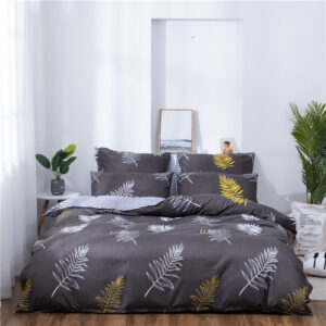 X-1007 Printed Solid bedding sets Home Bedding Set 4-7pcs High Quality Lovely Pattern with Star tree flower Bedrooms
