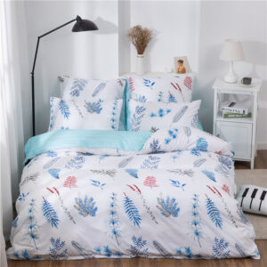 X-1012 Printed Solid bedding sets Home Bedding Set 4-7pcs High Quality Lovely Pattern with Star tree flower Bedrooms