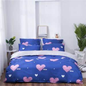 X-1014 Printed Solid bedding sets Home Bedding Set 4-7pcs High Quality Lovely Pattern with Star tree flower Bedrooms