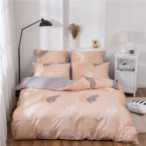 X-1019 Printed Solid bedding sets Home Bedding Set 4-7pcs High Quality Lovely Pattern with Star tree flower Bedrooms