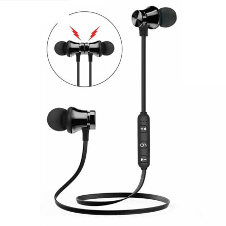 XT11 Wireless Bluetooth Earphone Stereo Sports Earbuds Magnetic Wireless in-ear Headset with Mic Hands-free For IPhone 7 Samsung Earbuds